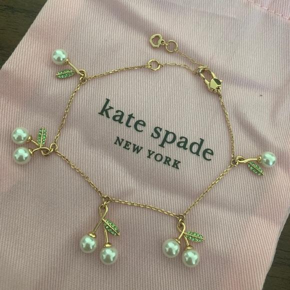 Kate Spade cherry bracelet